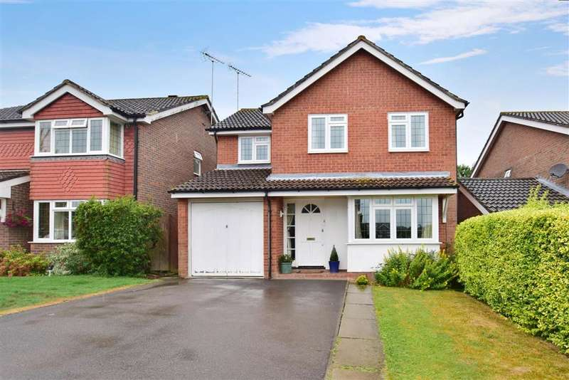 4 Bedrooms Detached House for sale in Staples Hill, Partridge Green, Horsham, West Sussex