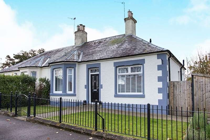 2 Bedrooms Semi Detached House for sale in Carnethie Street, Rosewell, EH24