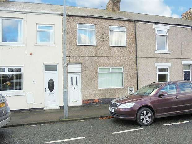3 Bedrooms Terraced House for sale in West Chilton Terrace, Chilton, Ferryhill, Durham