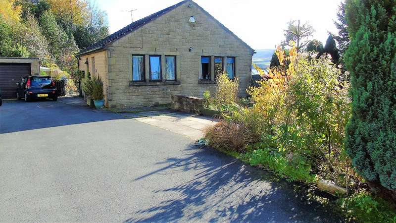 2 Bedrooms Detached Bungalow for sale in Stile Moor Rise, Todmorden, OL14