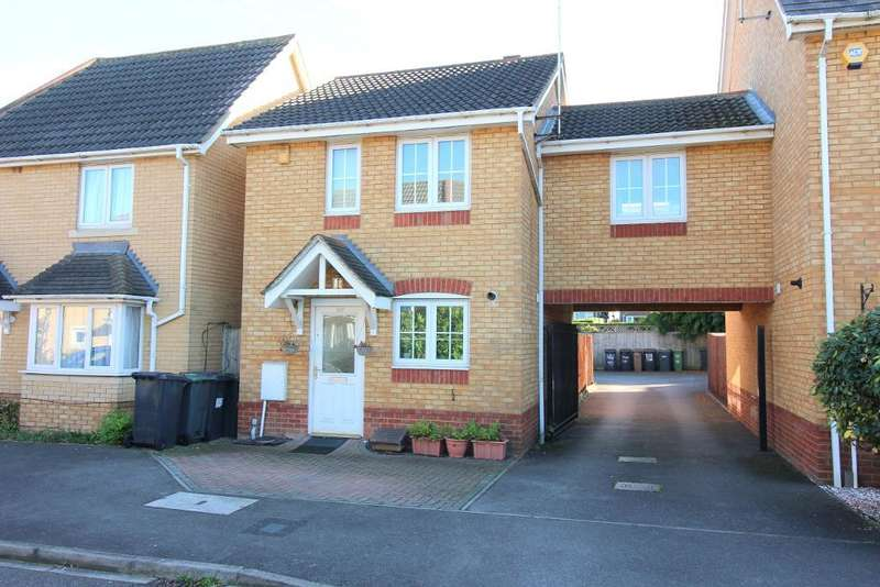 3 Bedrooms End Of Terrace House for sale in Morgan Close, Luton, Bedfordshire, LU4 9GN