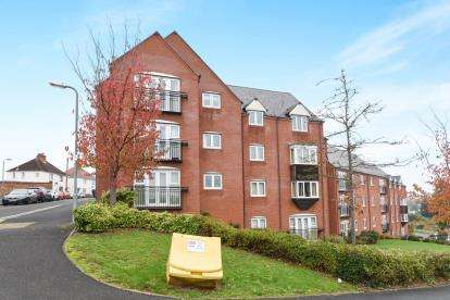 2 Bedrooms Flat for sale in Conduit House, Mill Lane, Evesham, Worcestershire