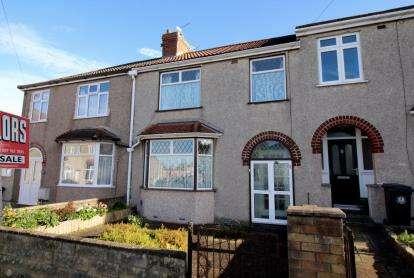 3 Bedrooms Terraced House for sale in Glenburn Road, Kingswood, Bristol, United Kingdom