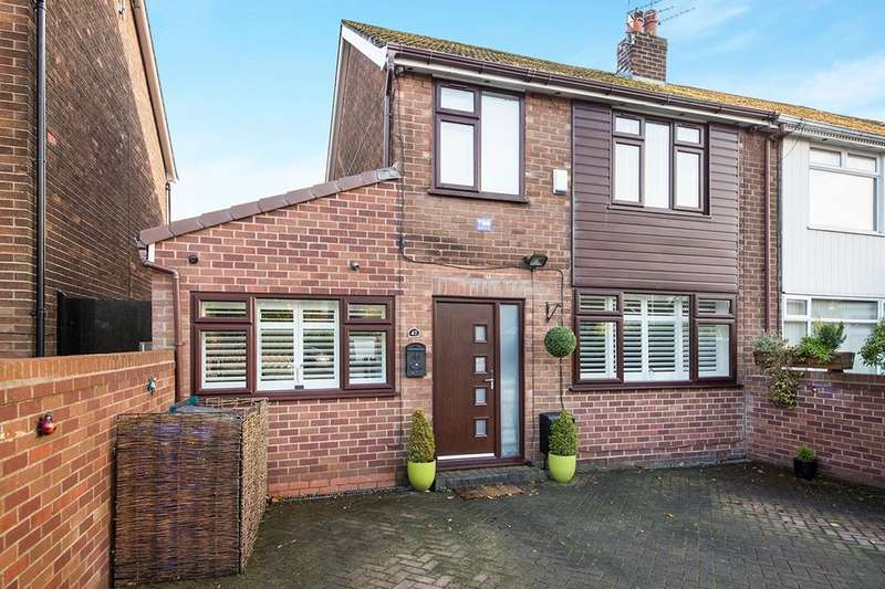 4 Bedrooms Semi Detached House for sale in Grosvenor Road, Hyde, SK14