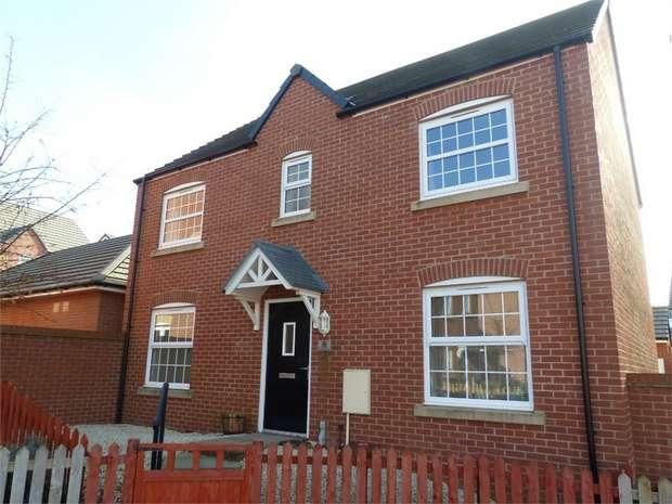 4 Bedrooms Detached House for sale in Gerddi'r Briallu, Coity, Bridgend, Mid Glamorgan