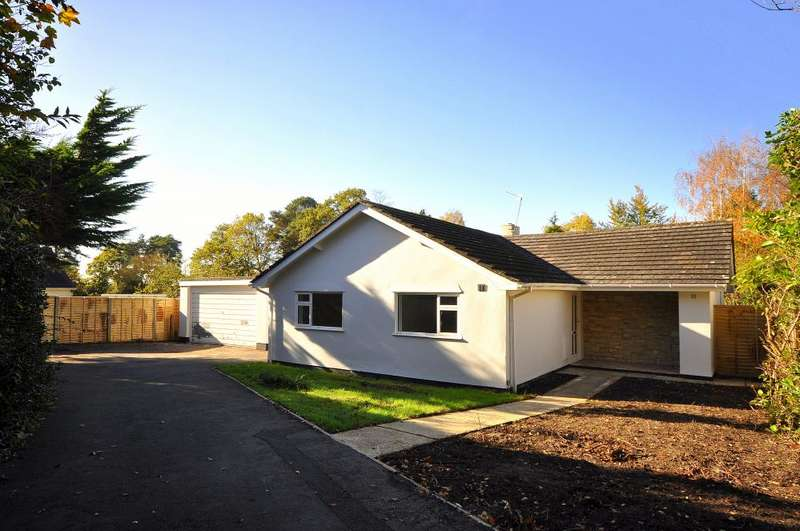 3 Bedrooms Detached Bungalow for sale in Gainsborough Road, Ashley Heath, BH24 2HY