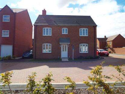 3 Bedrooms Detached House for sale in Buttercup Close, Evesham, Worcestershire