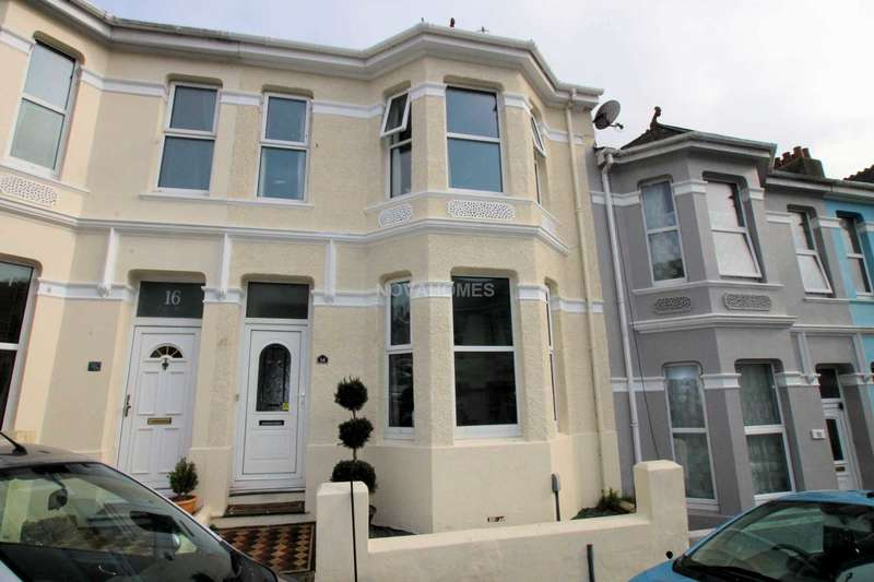 3 Bedrooms Terraced House for sale in Craven Avenue, St Judes, Plymouth, PL4 8SJ