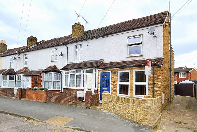 2 Bedrooms End Of Terrace House for sale in Shepperton