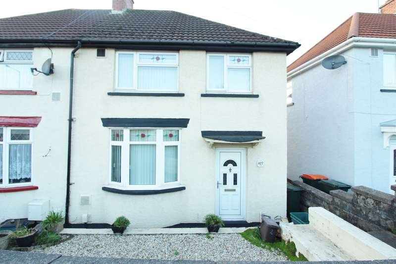 3 Bedrooms Semi Detached House for sale in Malpas Road, Newport, NP20