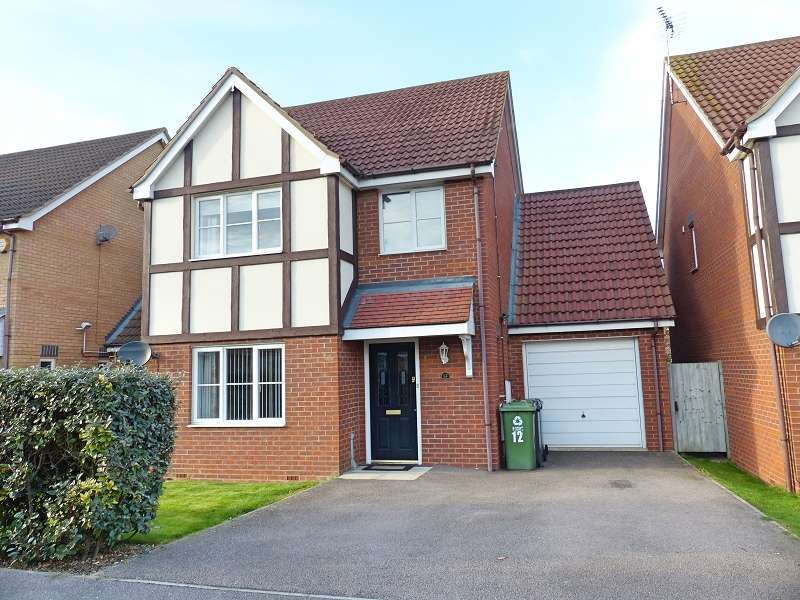 4 Bedrooms Detached House for sale in Edison Drive, Yaxley, Peterborough, Cambridgeshire. PE7 3ZA
