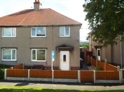 3 Bedrooms Semi Detached House for sale in Maes Y Dre, Mold, Flintshire, CH7