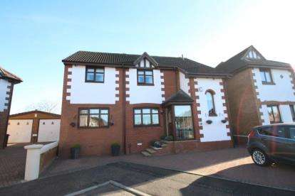 4 Bedrooms Detached House for sale in Halpin Close, Bellshill, North Lanarkshire