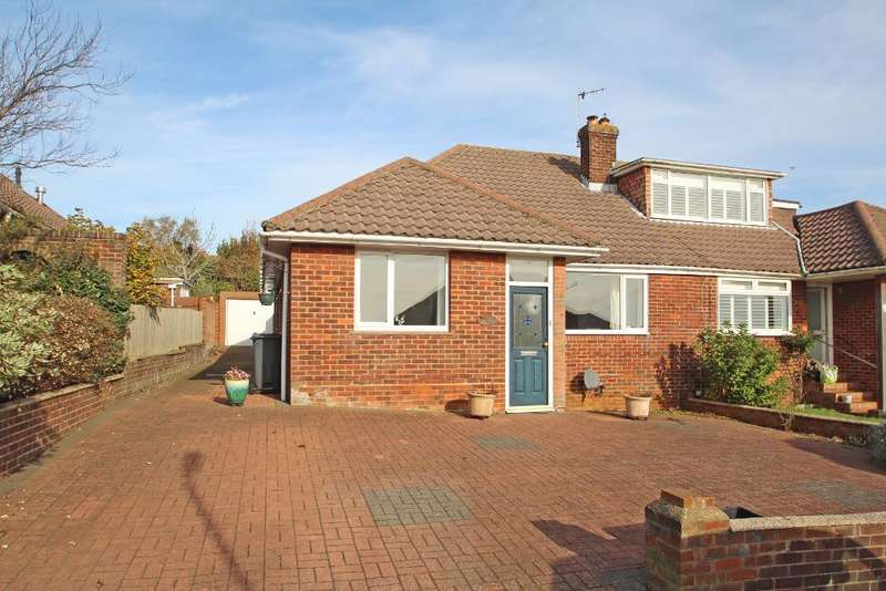 3 Bedrooms Semi Detached House for sale in Hillside, Portslade, East Sussex, BN41 2DG