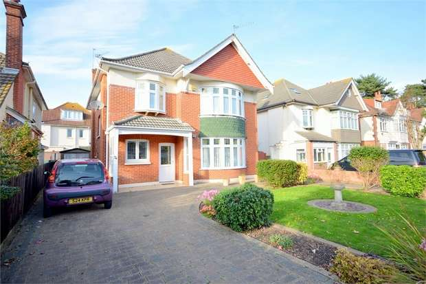 6 Bedrooms Detached House for sale in Kings Park Road, BOURNEMOUTH