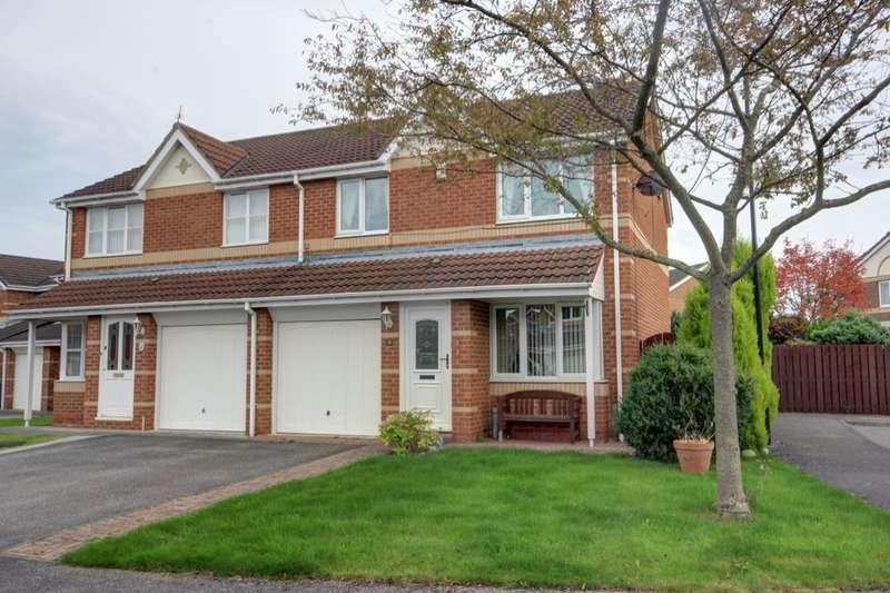 3 Bedrooms Semi Detached House for sale in Birkdale Drive, Shiney Row, Houghton Le Spring, DH4