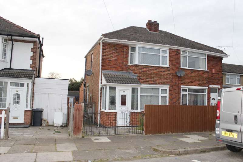 3 Bedrooms Semi Detached House for sale in Kendal Road, Rushey Mead