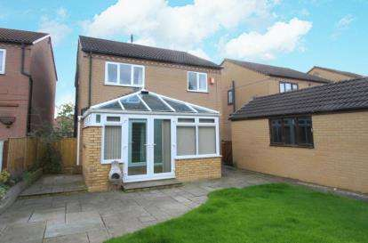 4 Bedrooms Detached House for sale in Elvaston Road, North Wingfield, Chesterfield, Derbyshire