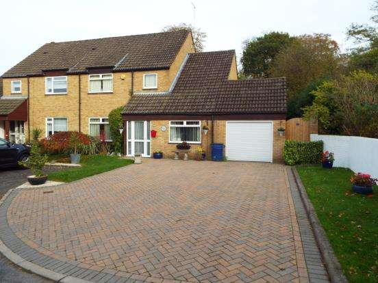 4 Bedrooms Semi Detached House for sale in Bracknell, Berkshire