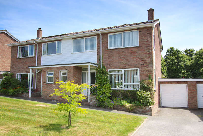 3 Bedrooms Semi Detached House for sale in Rowans Park, Lymington, Hampshire