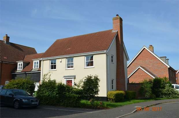 4 Bedrooms Link Detached House for sale in Sowdlefield Walk, Mulbarton, Norwich, Norfolk