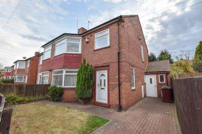 3 Bedrooms Semi Detached House for sale in Whalton Avenue, Coxlodge, Newcastle Upon Tyne, Tyne and Wear, NE3