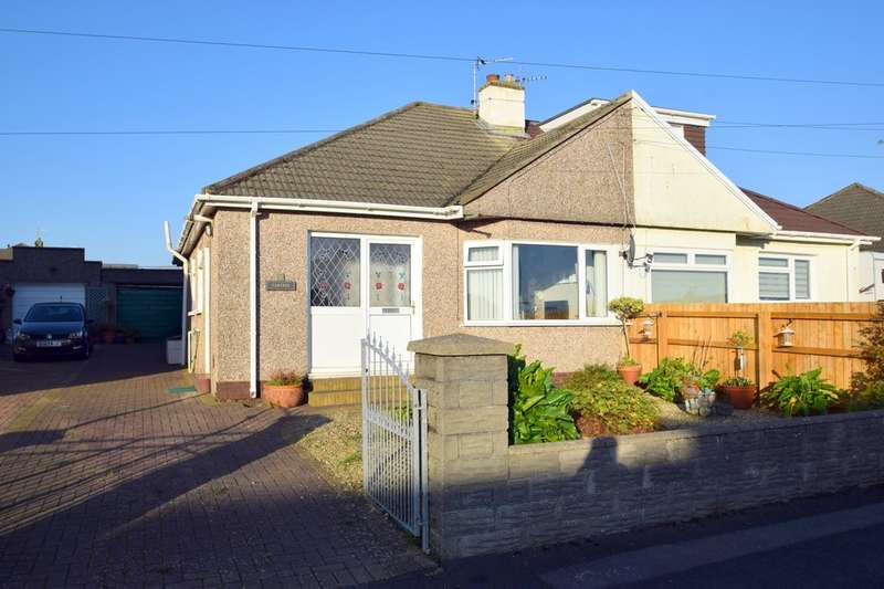 2 Bedrooms Semi Detached Bungalow for sale in 32 Tennyson Drive, Cefn Glas, Bridgend, Bridgend County Borough, CF31 4PU.