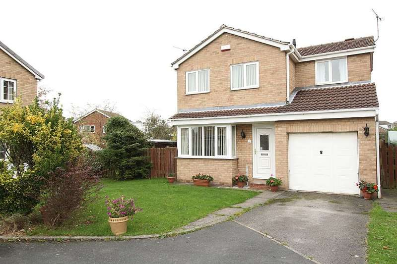 3 Bedrooms Detached House for sale in Hoober Court, Rawmarsh, Rotherham, Yorkshire, S62 7LH