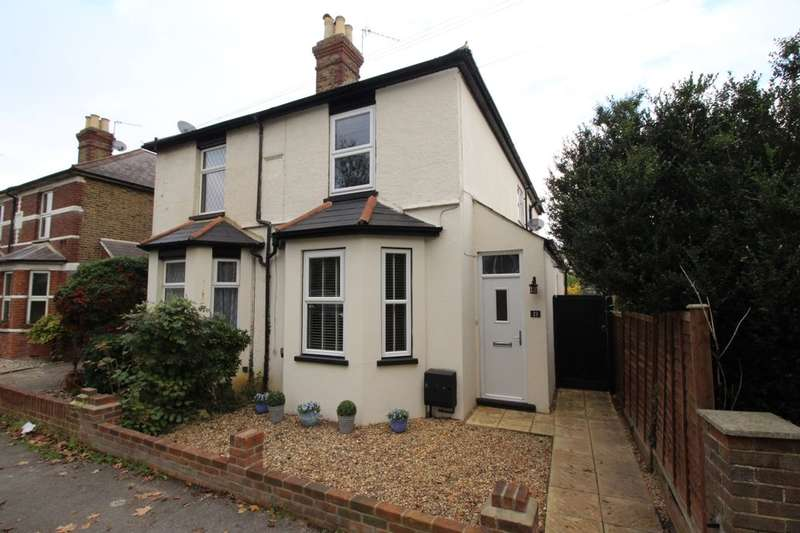 3 Bedrooms Semi Detached House for sale in Wraysbury Road, Staines-Upon-Thames, TW18