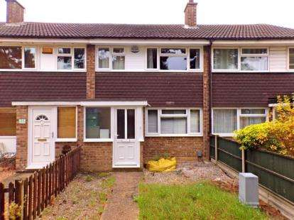3 Bedrooms Terraced House for sale in Beech Walk, Kempston, Bedford, Bedfordshire