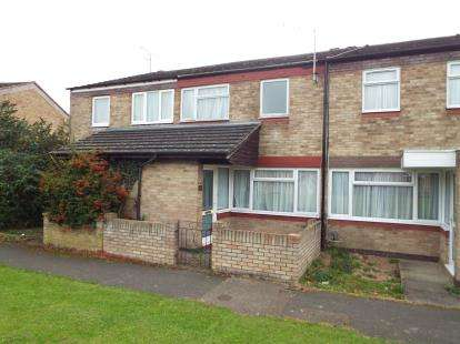 3 Bedrooms Terraced House for sale in Trident Drive, Houghton Regis, Dunstable, Bedfordshire