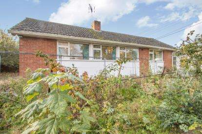 3 Bedrooms Bungalow for sale in Bishops Hull, Taunton, Somerset