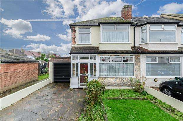 3 Bedrooms End Of Terrace House for sale in Sunbury Road, SUTTON, Surrey, SM3 9AR