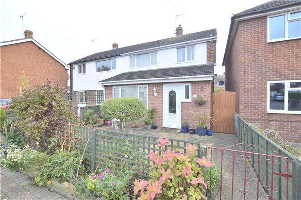 3 Bedrooms Semi Detached House for sale in Northway, TEWKESBURY, Gloucestershire, GL20 8QP