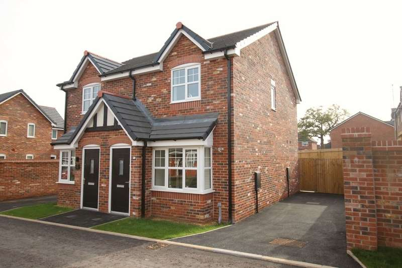 2 Bedrooms Semi Detached House for sale in Irelands Croft Close, Sandbach, CW11