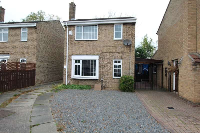 3 Bedrooms Detached House for sale in Coppice Hill, Esh Winning, Durham, DH7