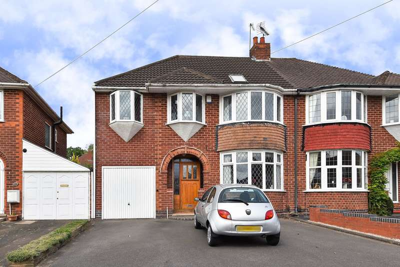 5 Bedrooms Semi Detached House for sale in Granshaw Close, Kings Norton, Birmingham, B38