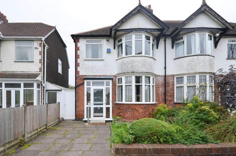 3 Bedrooms Semi Detached House for sale in Brandwood Road, Birmingham, B14