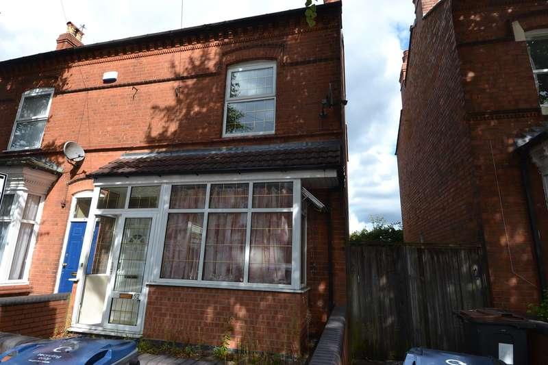 3 Bedrooms Semi Detached House for sale in Birchwood Crescent, Balsall Heath, Birmingham, B12