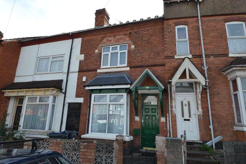 3 Bedrooms Terraced House for sale in Oakwood Road, Sparkhill, Birmingham, B11