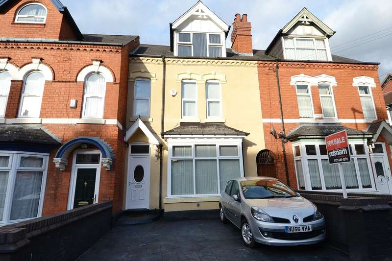 4 Bedrooms Terraced House for sale in Willows Crescent, Balsall Heath, Birmingham, B12
