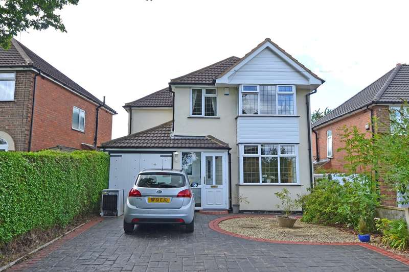 4 Bedrooms Detached House for sale in Whetty Lane, Rednal, Birmingham, B45
