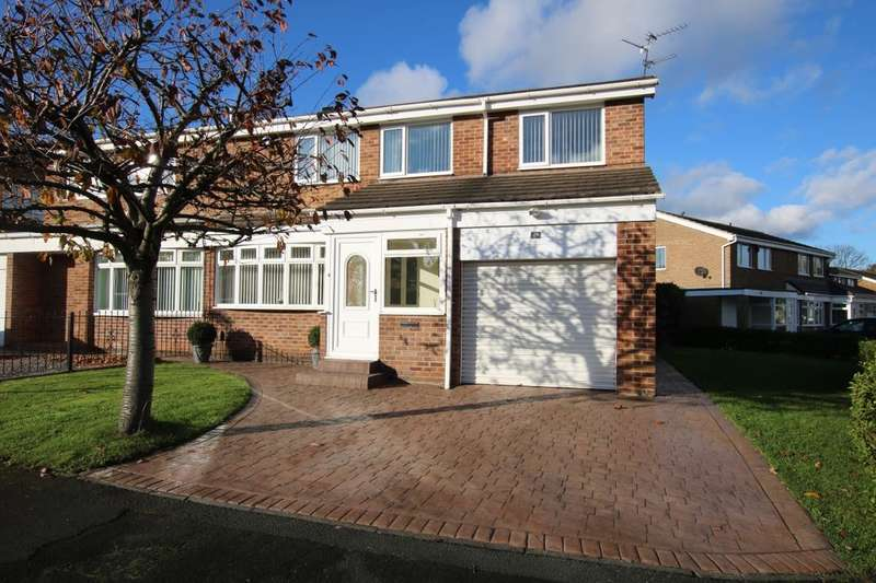 4 Bedrooms Semi Detached House for sale in Lingmell, Washington, NE37