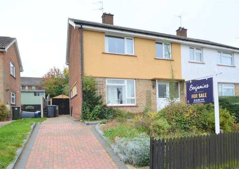 3 Bedrooms Semi Detached House for sale in Hayes Road, Keyworth, Nottingham