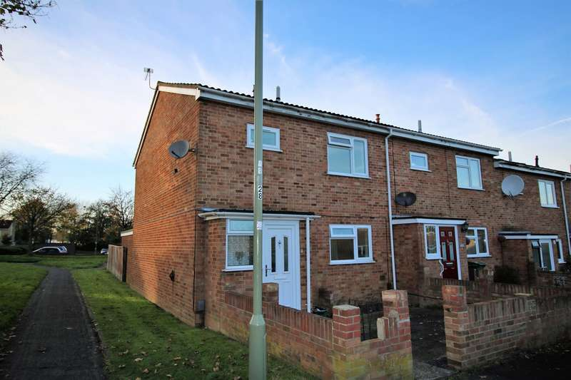 3 Bedrooms End Of Terrace House for sale in Pershore Road, Popley, Basingstoke, RG24