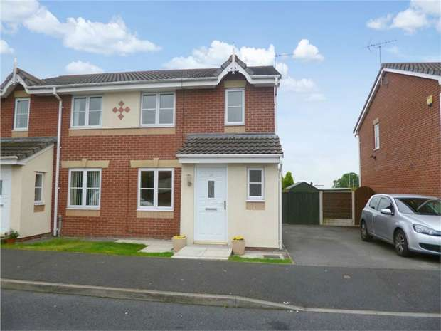 3 Bedrooms Semi Detached House for sale in Newsham Road, Stockport, Cheshire