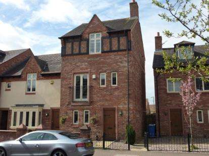 4 Bedrooms End Of Terrace House for sale in Butts Green, Kingswood, Warrington, Cheshire