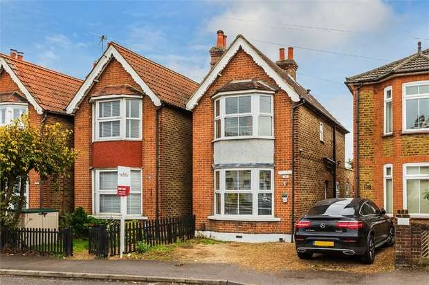 3 Bedrooms Detached House for sale in Molesey Road, Hersham, WALTON-ON-THAMES, Surrey