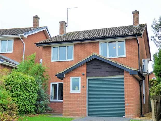 4 Bedrooms Detached House for sale in Thompson Close, Braunston, Daventry, Northamptonshire