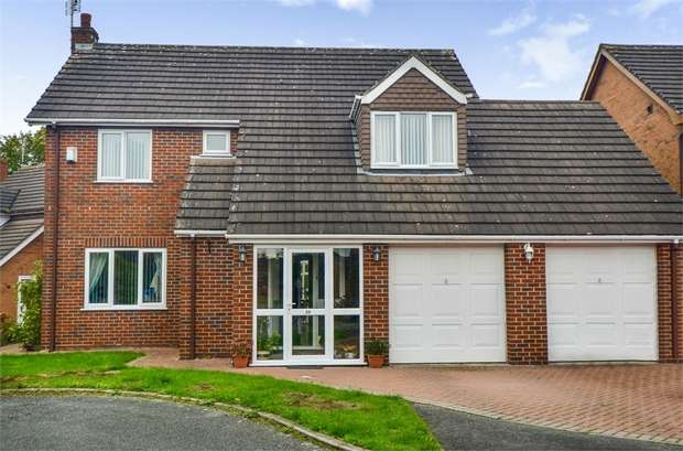 4 Bedrooms Detached House for sale in Millbeck Close, Weston, Crewe, Cheshire